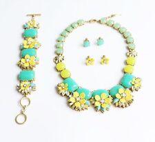 Chloe+Isabel Terrace Blooms Statement Necklace,earrings and bracelet SET