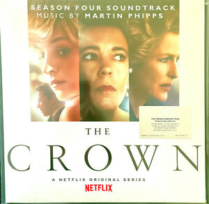 Martin Phipps ‎LP The Crown: Season 4 - Tirage limité 750 ex 'royal' purple marb