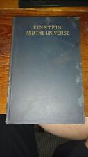 Einstein and the Universe 1922 First Printing by Charles Nordmann Henry Holt & C