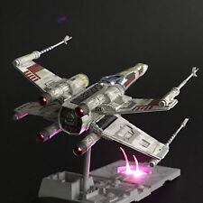PRO BUILT Luke Skywalker's X-Wing Fighter w/FULL LIGHTING Prop Replica Star Wars