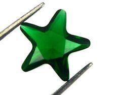 Natural Colombian Green Emerald 1.40 Carat Star Shape Gemstone AGI Certified CB1