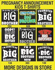 Kids t-shirts Boys t-shirts Brother t-shirts Pregnancy Announcement BIG BROTHER