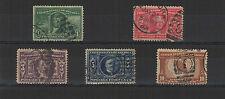 U.S.A. États-Unis 1904 centenaire de l'achat de la  5 timbres oblitérés /T1983