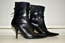 Vicini Giuseppe Zanotti Zip Boot Heel Women's 37
