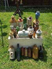 More details for stoneware bottles job lot antique vintage victorian display