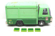 """Rare 1970's Buddy L 9"""" Pressed Steel .Canada Dry Soda Truck.Made In Japan"""
