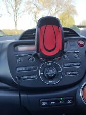 Red Universal 360 CD Slot Car Mount Mobile Phone Holder GPS for All Devices