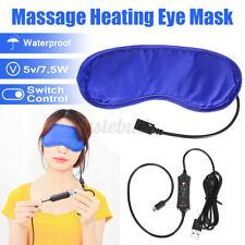 3 Speeds Timing Usb Heating Heat Eye Mask Warm Compress Relieve Blepharitis Home