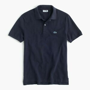 BRAND NEW NWT LACOSTE® FOR J.CREW $98 SLIM PIQUÉ POLO SHIRT / SIZE M (4)