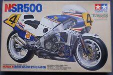 Tamiya Honda NSR500 Grand Prix 1/12 Scale Motorcycle Model Kit Display PM557