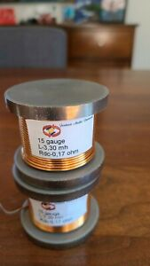 30 mH Inductors for crossover - Set of 2
