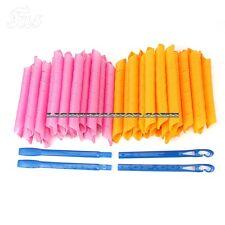 40PCS 55cm Magic Hair Curlers DIY Curlformers Spiral Ringlets Hairband tool Best