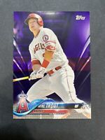2018 Topps Mike Trout #300 Purple Toys R Us. Super RARE!!