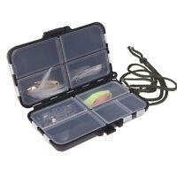 Pêche à la boîte toupie Spinner à appâts Popper 9 compartime IHS