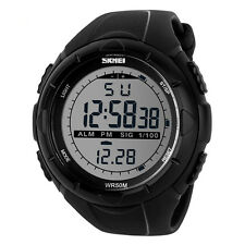 Men Woman Waterproof Digital Watch Military Army Sports SHOCK Wristwatch