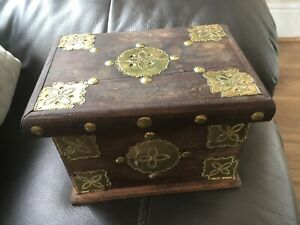 Handmade Wooden Treasures Box