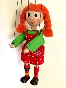 Marionette Püppi,Puppentheater,Therapiepuppe, Geschenkidee,Schule,Kita