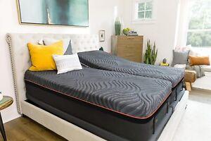 Zero Gravity Adjustable Bed Bundle, with Copper infused Pressure Relief Mattress