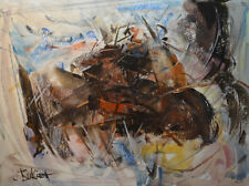 Contemporary Art/ Original Painting by American Artist Rukie Jackson /Abstract