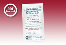 24 DOT Approved ALCO SCREENS-Saliva Test detects Alcohol in Blood .02-.30 BAT