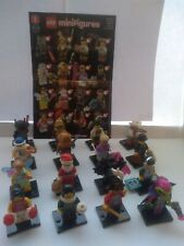 LEGO Minifigures Series 8 (8833) Complete Set of 16. Excellent Condition.