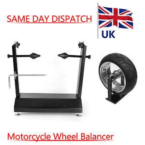 Motorcycle Motorbike Bike Race Wheel Balancer Balancing Stand Carbon Steel