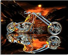 """Ghost Raider 16X20"""" Paint By Number Kit DIY Acrylic Painting on Canvas Frameless"""