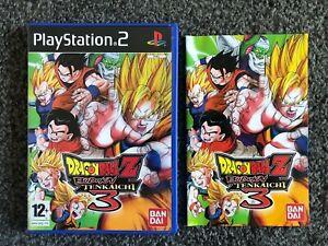DRAGON BALL Z BUDOKAI TENKAICHI 3- PS2