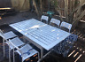 Outdoor Dining Set Table   6 chairs