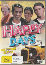 Ron Howard: HAPPY DAYS 4th Season NEW, BUT UNSEALED! Region 4 (3-DVD SET)