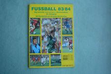 Bergmann Fussball 83/84: Leeralbum  mit 2 eingehefteten Bestellscheinen