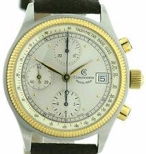 CHRONOSWISS Pacific cronografo acciaio-oro, automatico base CAL. Valjoux 7750
