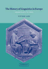The History of Linguistics in Europe: From Plato to 1600 (Cambridge-ExLibrary