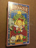 NEW/SEALED ANIMATED VHS - THE NUTCRACKER (1991)