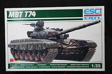 YC054 ESCI 1/35 maquette tank char 5024 MBT T74