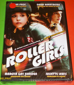 ROLLER GIRLS / WHIP IT! -DVD R2- English Español -Precintada