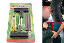 Kit Repara Pinchazos Emergencia Reparador Neumaticos Moto Coche Quad Scooter