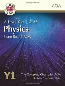 A-Level Physics for AQA: Year 1 & AS Student Book with Online Ed... by CGP Books