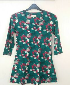 MISTRAL Green  Patterned TUNIC SIZES 8,10,1214,16,18,20