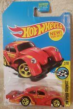2017 - Hot Wheels - Volkswagen Beetle Kafer Racer Red Momo Hw Speed Graphics #56