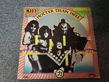 KISS Hotter Than Hell Brazilian Vinyl Promo, CB 9098 / Black Font