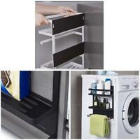 Magnetic Refrigerator Side Hanger Rack Spice Holder Storage Home Kitchen Tool