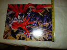 comic poster Spawn Vs versus Batman poster and interview with both IMAGE D.C.