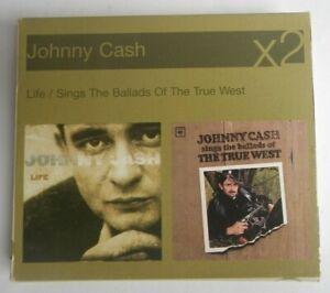 Johnny Cash - Life / Ballads of the True West  2 CD   Box Set