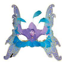Adulto Mujer Hada Mariposa FANTASY Cuento De Baile Máscaras Antifaz Accesorio
