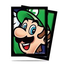 Luigi Super Mario Bros. Ultra Pro Deck Protector card sleeves for Mtg Pokemon