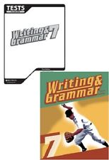 BJU Press Writing and Grammar 7 Student Worktext & Tests (3rd edition)