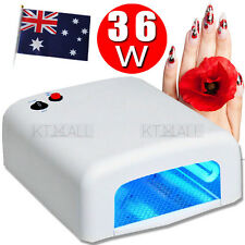 Nail Lamp 36W 4 Tube Bulbs UV Nail Lamp Dryer Gel Curing Art Gelish Timer with