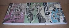 Log Horizon Novel Vol.1,2,3 Novels Set English