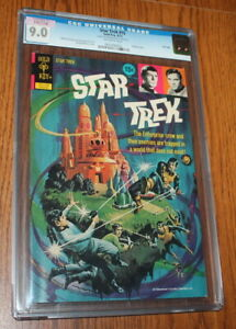 Gold Key Star Trek #15 8/1972 CGC 9.0 From Heritage from Random House Archives